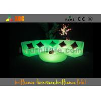 Best Plastic Waterproof LED Sofas / Outdoor LED furniture 5V 4400mAh wholesale