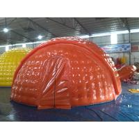 Water Proof 6m Diameter PVC Tarpaulin Inflatable Camping Tent With EN14960