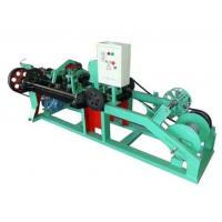 Wholesale Automatic Barbed Wire Making Machine , Wire Mesh Welding Machine 2.2KW Motor from china suppliers