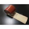 Waterproof High Performance Silica Fabrics , Silicone Rubber Coated Fiberglass Cloth