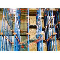 Wholesale Channel Type Drive In Racking High Density Storage Racks For Frozen Food Freezers from china suppliers