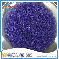 Wholesale Blue Silica Gel Granules For Precise Instruments / Shoes / Clothing / Medicine from china suppliers
