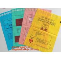 Wholesale Poly Plastic Medical Specimen Bags Hospital Bag Medical Vomit Bag, specimen bag autoclavable biohazard bags high quality from china suppliers