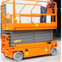 Wholesale Norrow 8m Pallet Scissor Lift Platforms Hydraulic Driven 230kg Loading Capacity from china suppliers