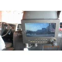 Police Car Security 3G GPS WIFI Mobile Vehicle DVR With Monitor Control Keyboard