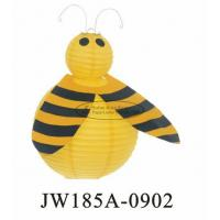 Wholesale Diy Paper Bee Butterfly Paper Lanterns Inside 8 Inch 10 Inch Customized from china suppliers
