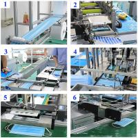 Wholesale Full Automatic Flat Mask Making Machine KIT 1with2, Body Medical Hen Power Food Technical Air Face Sales Video Support from china suppliers