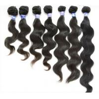 Wholesale Wholesale Remy Inidian Hair Natural Black Body Wave Hair Weft For Sale from china suppliers
