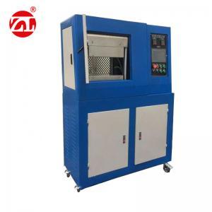 Wholesale Rubber Carpet Track Vulcanizing Press Machine , Plastic Lab Hot Press Machine from china suppliers