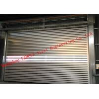 Buy cheap Indoors PVC Fast Rapid Rise Door and Outdoors Hard Metal High Speed Rolling from wholesalers