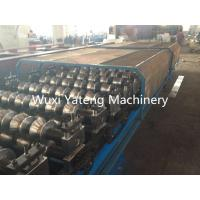 Best Aluminum Metal Corrugated Roll Forming Machine Fully Automatic Panasonic PLC Control wholesale