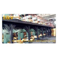Upward Zn Cu Mixed Continuous Caster Machine With Frequency Automatic Adjustment