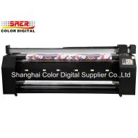 China Double DX7 Head Banner Printing Machine For Mirror Fabric Making on sale