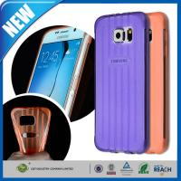 Wholesale Crystal TPU Galaxy Cell Phone Cases , Gel Bumper Clear Back Cover from china suppliers