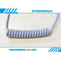China Gray Colour Quality Medical Hospital Bed Customized Coil Cable on sale