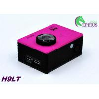 Wholesale Mini 30M H9 LT 4k Sports Action Camera With Seven Colors Full Accessories from china suppliers
