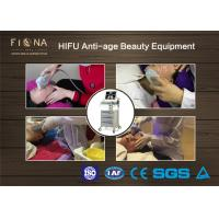Anti Aging Hifu Face Lifting Machine , Non Surgical Hifu Slimming Machine for sale