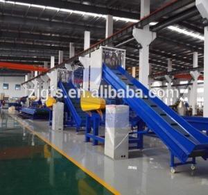 FANGSHENG film plastic recycle machine/pe pp woven bag washing line