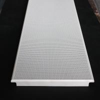 Wholesale Aluminum Clip In Suspended Perforated Acoustic False Ceiling 300x1200mm Dia 1.8mm from china suppliers