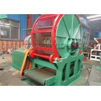 China Double Shaft Tyre Shredding Machine 3 - 6T/H Capacity 55kw * 2 Driving Motor for sale