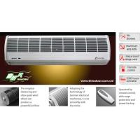 Natural Wind Compact Air Curtains For Overhead Doors With Cross Flow