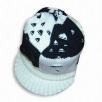 Wholesale Acrylic Knitted Women's Cap with Peak from china suppliers