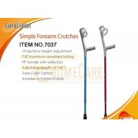 Wholesale Simple Forearm Crutches from china suppliers