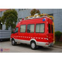 Wholesale IVECO Chassis Command Fire Trucks Gross Weight 4000kg For Buliding Fire Fighting from china suppliers