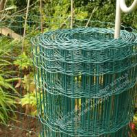 Euro Fence Heavy Duty Welded Wire High Strength With  2.0 / 2.5mm Diameter for sale
