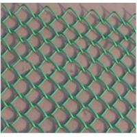 Buy cheap 60 Mesh Chain link mesh hot galvanized for slope protection, playground fencing from wholesalers