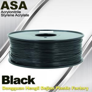 Wholesale Anti Ultraviolet ASA UV 3D Printer Filament 1.75 / 3.0mm 3d Printing Filament from china suppliers