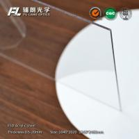 China 16mm Custom Cut Acrylic Sheets High Light Transmission Rate , 91.5% Transmissivity on sale