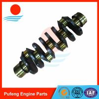 Wholesale engineering machinery crankshaft factory in China, 4HK1 forged crankshaft 8-98029-270-0 for Sumitomo excavator from china suppliers