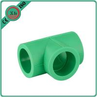 China Durable Plastic Pipe Tee Polypropylene Random / Ppr Pipes And Fittings on sale