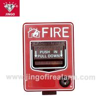 Best Conventional fire alarm 24V two wire bus manual call point,reset(break glass) wholesale