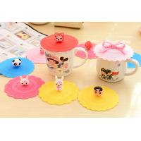 Wholesale Silicone Fashion Leak Proof Watertight Eco-Friendly Cup Cover from china suppliers