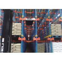 China Vertical Type Shuttle Pallet Racking System Q235B Carbon Steel Material on sale