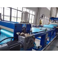 Wholesale Soft Plastic Sheet Extrusion Machine , Flexible PVC Sheet Extrusion Equipment Production Line from china suppliers