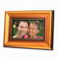 Wholesale 7-inch Digital Photo Frame, Supports SD and MMC Cards from china suppliers