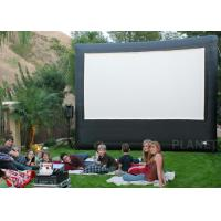 Wholesale Portable Inflatable Movie Screen , Customized Size Inflatable Cinema Screen from china suppliers