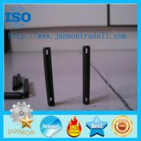 Special Slotted Spring Pin(with two holes),Spring roll pins with two holes,Spring steel roll pins with hole,BlackRollPin