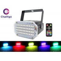 Wholesale Remote Control Stage Strobe Lights Super Bright 48 RGB Sound Activated Party from china suppliers