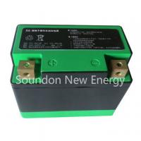 Wholesale 20C Electric Motorycle Starter Lifepo4 Lithium Battery 12V 7Ah 120×64×105 mm Size from china suppliers