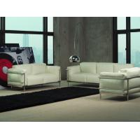 China U shape White Leather La Living Room Sectional Sofas and Couches Sets on sale