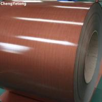 Wholesale PVC Film Laminated Steel Sheet , Furniture Decoration Pre Painted Sheet Metal from china suppliers