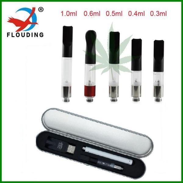 Quality 280 mah Slim Vape Pen 510 Thc electronic vapor cigarette hemp Cbd Oil Cartridges for sale