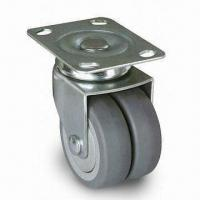 Wholesale Industrial Caster Wheel, Made of PUP/TPR, with Outside Diameter of 75mm from china suppliers