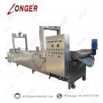 Wholesale Peanut Continuous Frying Machine|Industrial Peanut Fryer Equipment|Automatic Peanut Frying Machine|Frying Machine from china suppliers