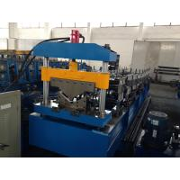 Best Galvanized Steel Roof Tile Roll Forming Machine Guide Pillar Structure 0.25 - 0.6mm wholesale