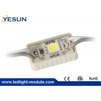 China Metal Channel Letters Outdoor Led Module , SMD 5050 RGB Led Module Waterproof on sale